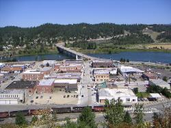 Downtown Bonners Ferry